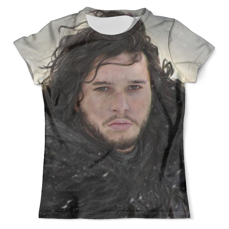 Футболка с полной запечаткой (мужская) Printio Джон сноу футболка с полной запечаткой для мальчиков printio джон сноу jonh snow