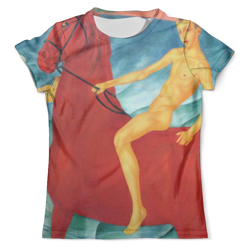 Футболка с полной запечаткой (мужская) Printio Купание красного коня русаков ю рисунки петрова водкина
