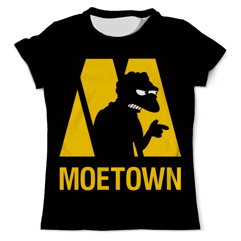 Футболка с полной запечаткой (мужская) Printio Мо (симпсоны) футболка moe футболка