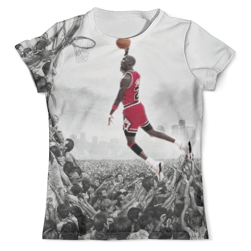 Футболка с полной запечаткой (мужская) Printio Майкл джордан (michael jordan) футболка мужская tidal collection of jordan 11