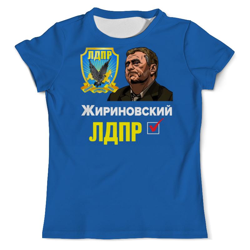 Футболка с полной запечаткой (мужская) Printio Лдпр партия №1