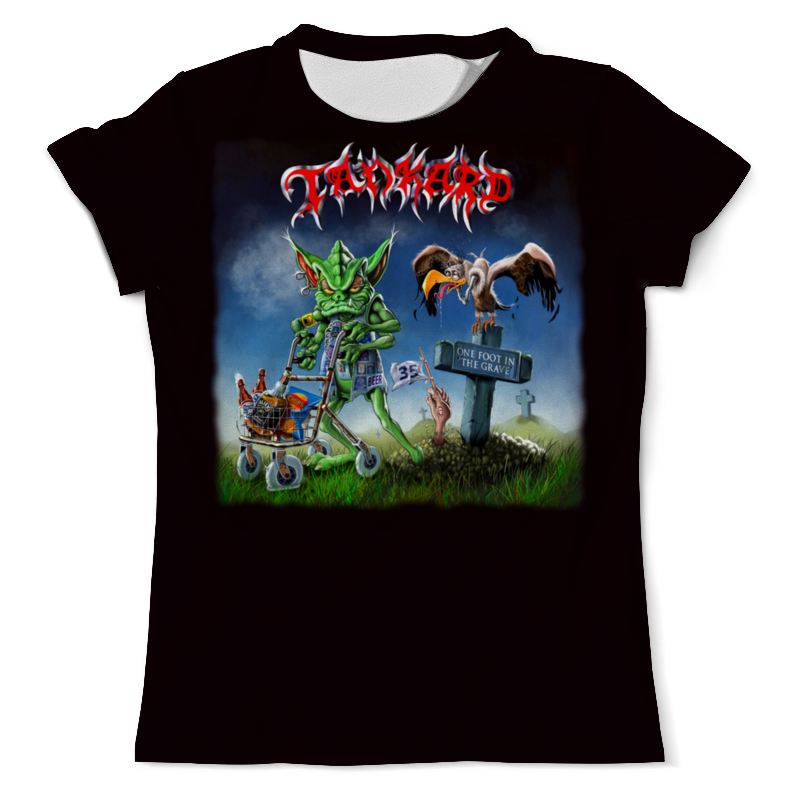 Printio Tankard thrash metal band футболка с полной запечаткой мужская printio tankard thrash metal band