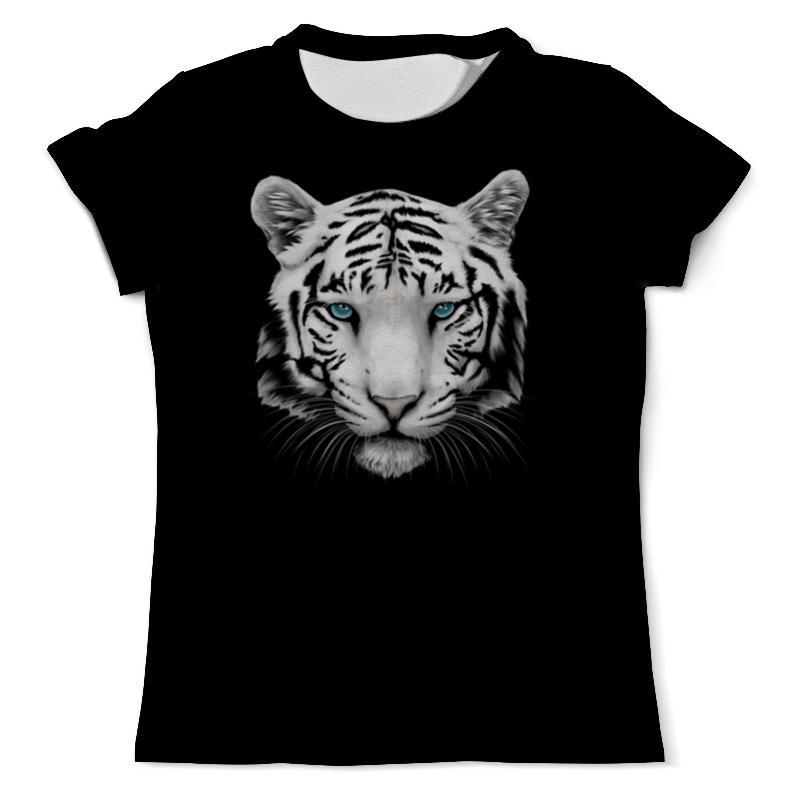 Printio Белый тигр футболка с полной запечаткой мужская printio мальчик и тигр