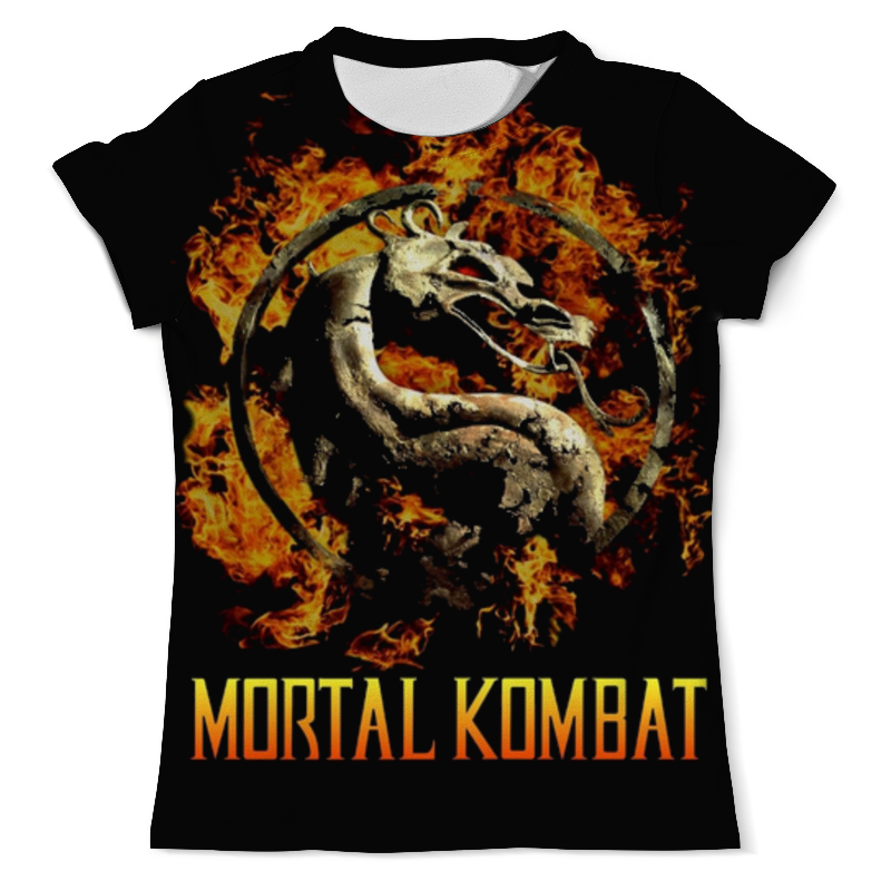 Printio Mortal kombat футболка с полной запечаткой мужская printio тотемный голем totem golem