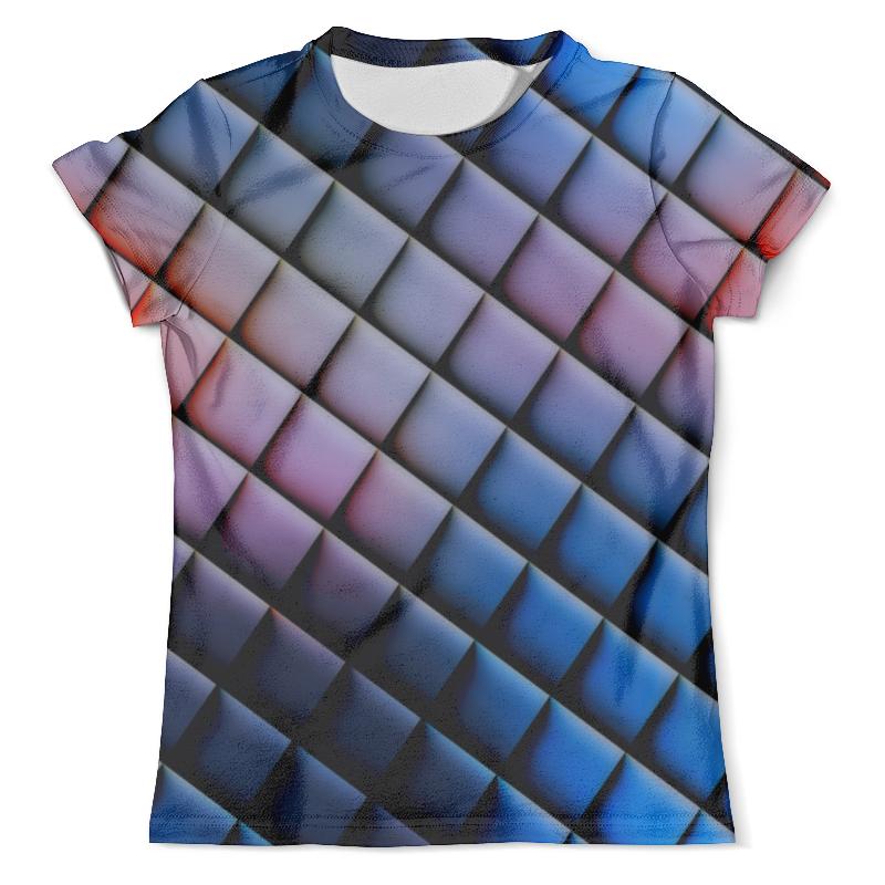 Футболка с полной запечаткой (мужская) Printio Квадраты футболка с полной запечаткой мужская printio фрактальная эзотерика мандалы