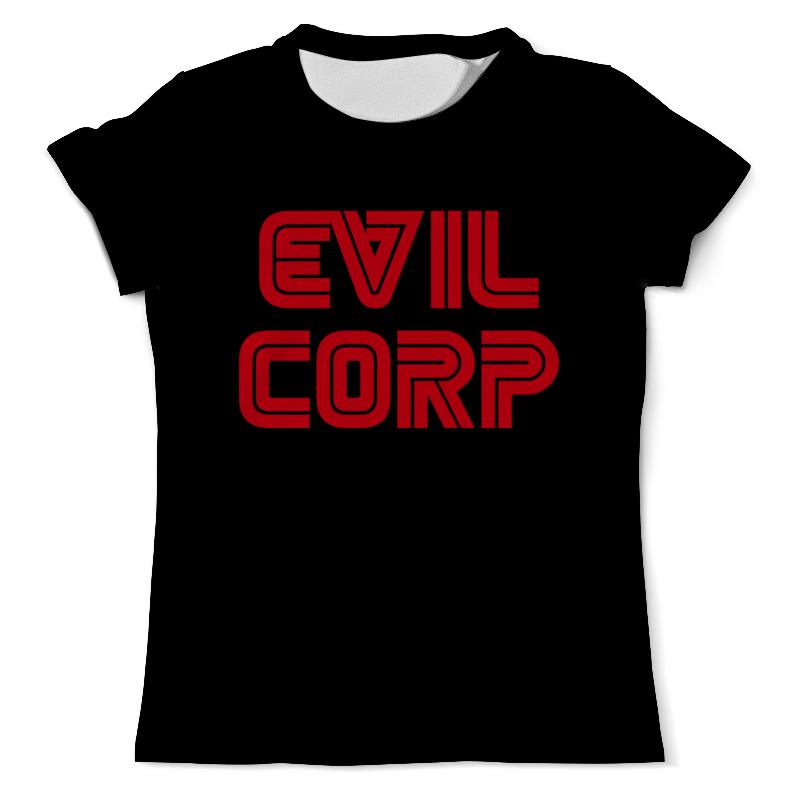 Printio Корпорация зла ( evil corp ) футболка с полной запечаткой мужская printio hear no evil see no evil speak no evil