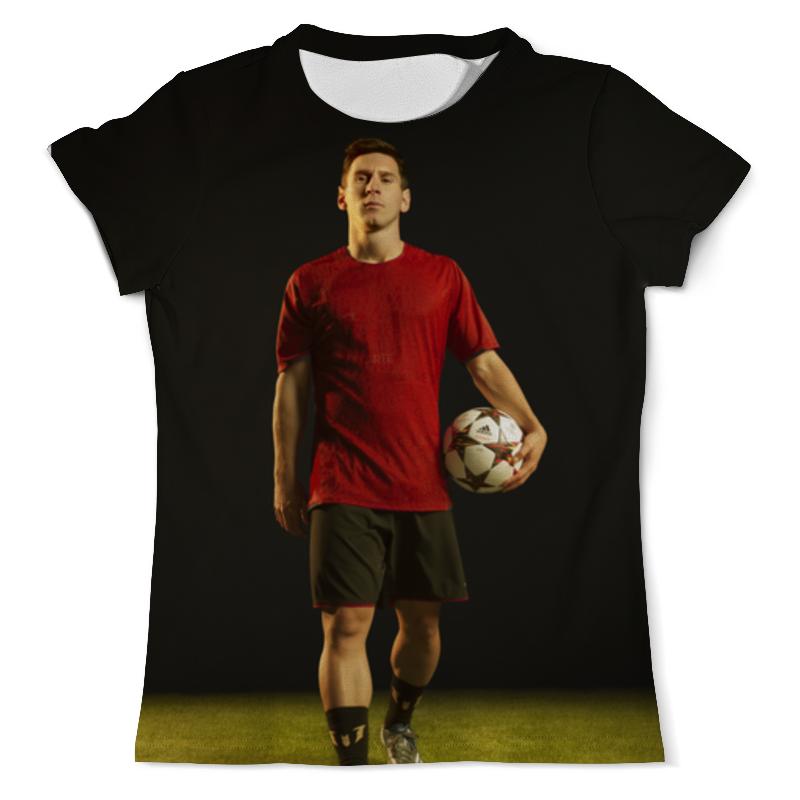 Футболка с полной запечаткой (мужская) Printio Лионель месси