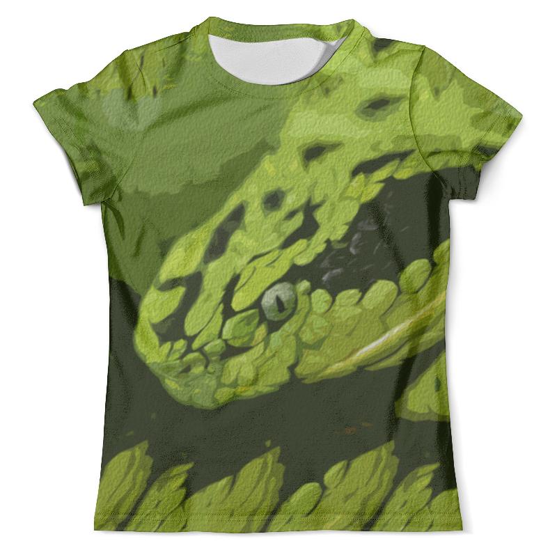 Футболка с полной запечаткой (мужская) Printio Змея футболка с полной запечаткой мужская printio змея