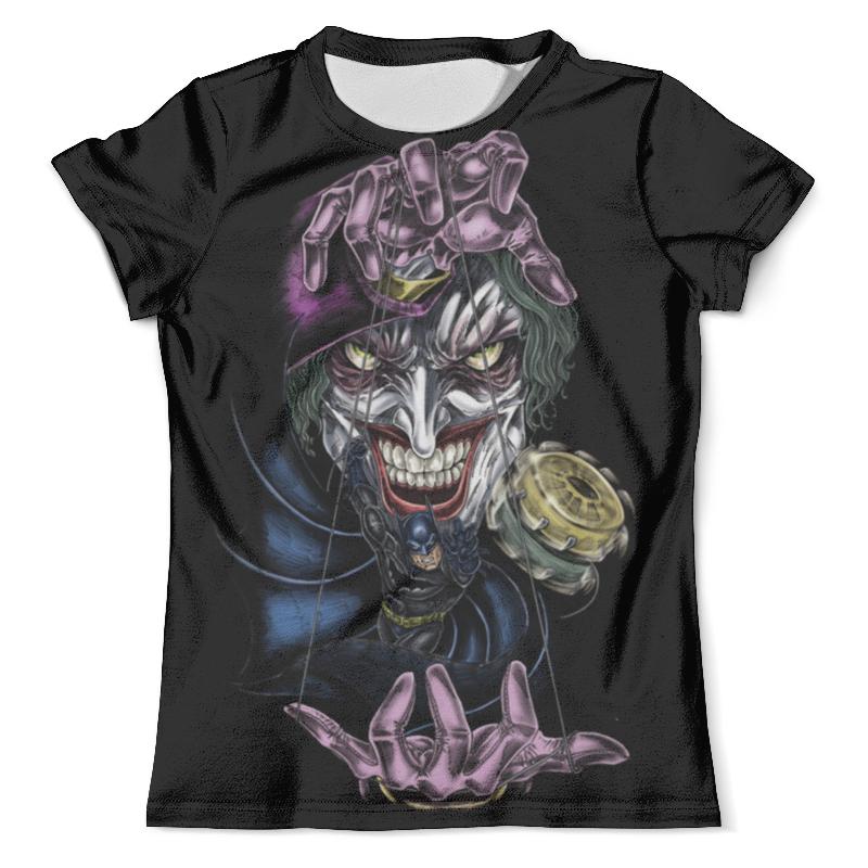Футболка с полной запечаткой (мужская) Printio Joker & batman футболка с полной запечаткой мужская printio batman x joker