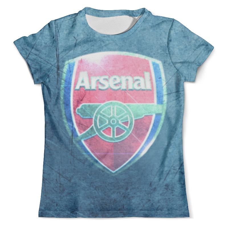 цены на Футболка с полной запечаткой (мужская) Printio Арсенал (arsenal) в интернет-магазинах