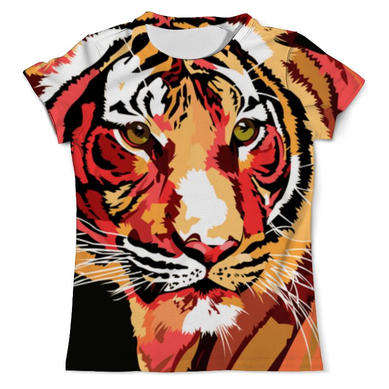 Printio Взгляд тигра футболка с полной запечаткой мужская printio тигра