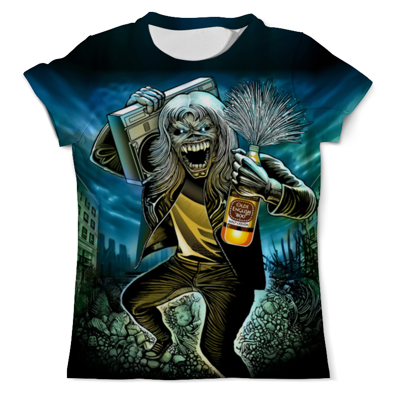 Футболка с полной запечаткой (мужская) Printio Веселый зомби (2) футболка с полной запечаткой мужская printio dota 2 enchantress
