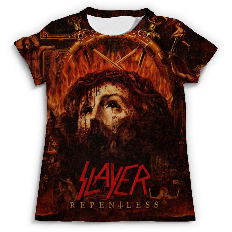 Футболка с полной запечаткой (мужская) Printio Slayer repentless 2015 (1) футболка мужская neil barrett fa01 2015