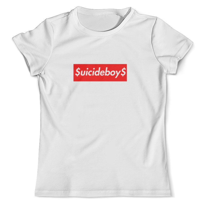 все цены на Футболка с полной запечаткой (мужская) Printio Suicideboys supreme