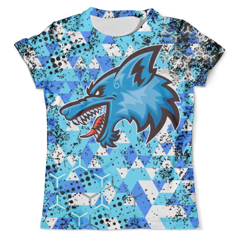 Футболка с полной запечаткой (мужская) Printio Wolf android (detroit) футболка с полной запечаткой мужская printio mountain wolf