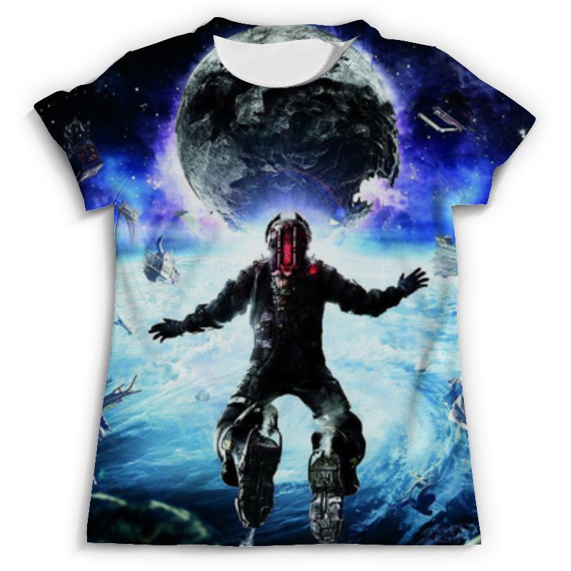 Футболка с полной запечаткой (мужская) Printio Мёртвый космос (dead space) как костюмы в dead space 3