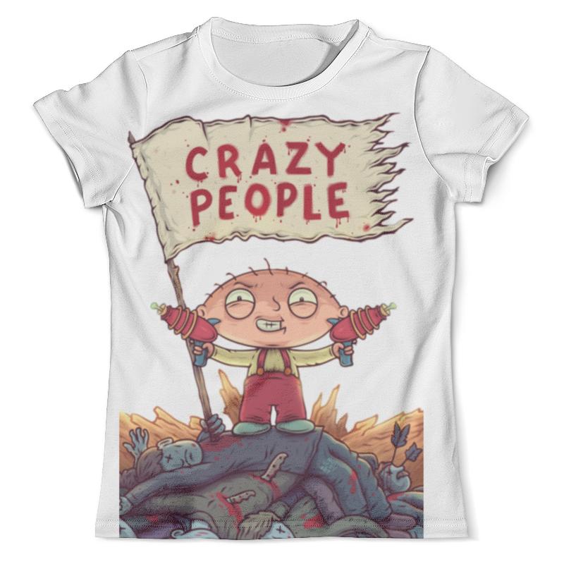 Футболка с полной запечаткой (мужская) Printio Crazy people футболка с полной запечаткой мужская printio crazy people