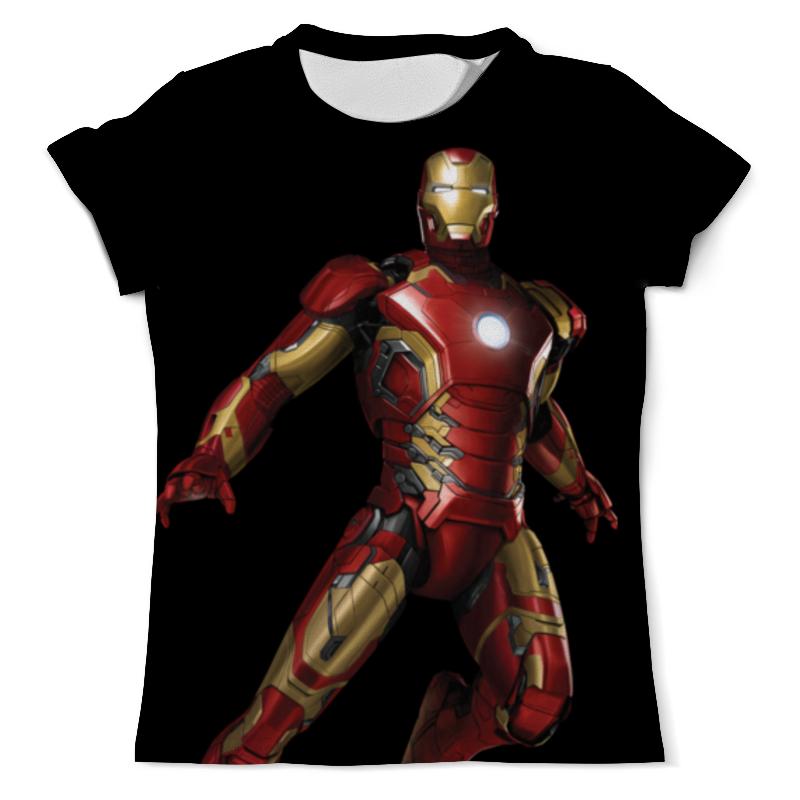 Футболка с полной запечаткой (мужская) Printio Iron man футболка с полной запечаткой мужская printio iron maiden