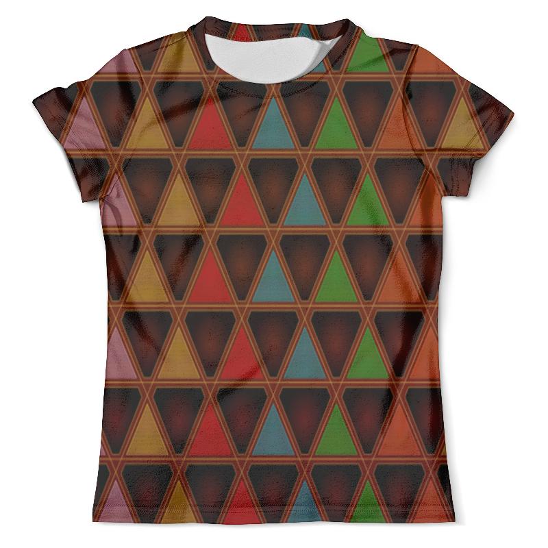 Футболка с полной запечаткой (мужская) Printio Triangle style футболка с полной запечаткой женская printio colorfull triangle