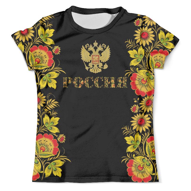Футболка с полной запечаткой (мужская) Printio Россия футболка с полной запечаткой мужская printio добро пожаловать в джунгли