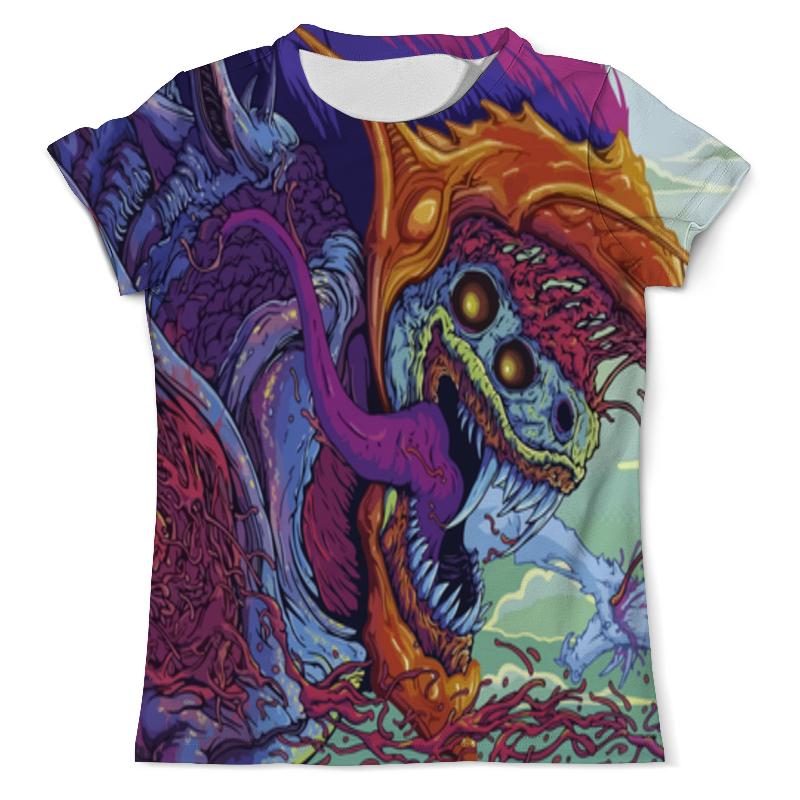 Printio Hyper beast футболка с полной запечаткой женская printio cs go hyper beast retro