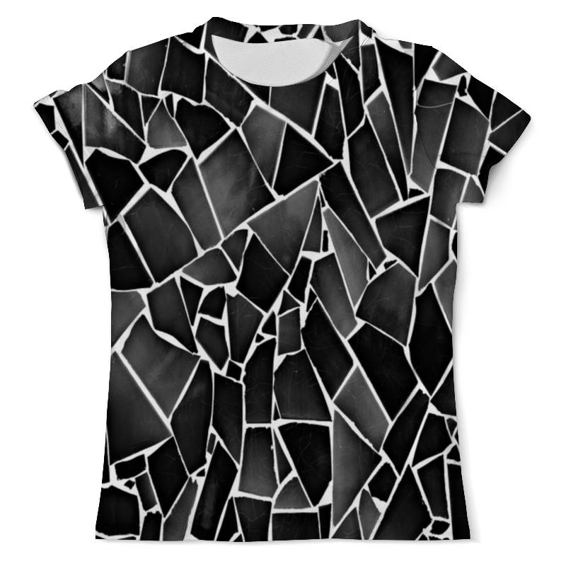 Printio Черно-белая мозаика футболка белая мужская без рисунка