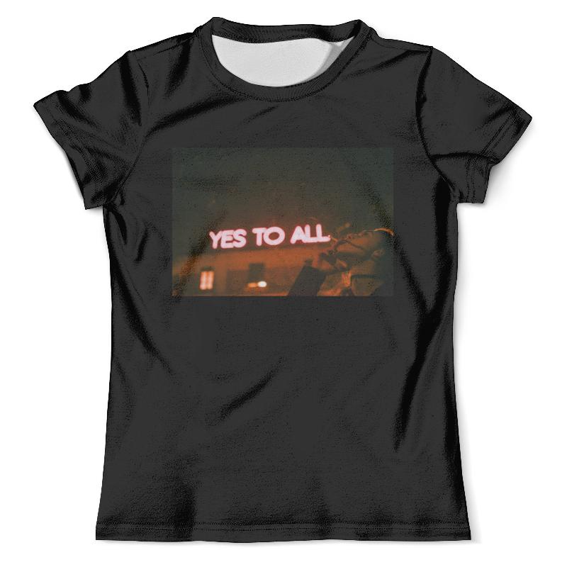 Футболка с полной запечаткой (мужская) Printio Yes to all от ssg! футболка с полной запечаткой мужская printio yes to all от ssg