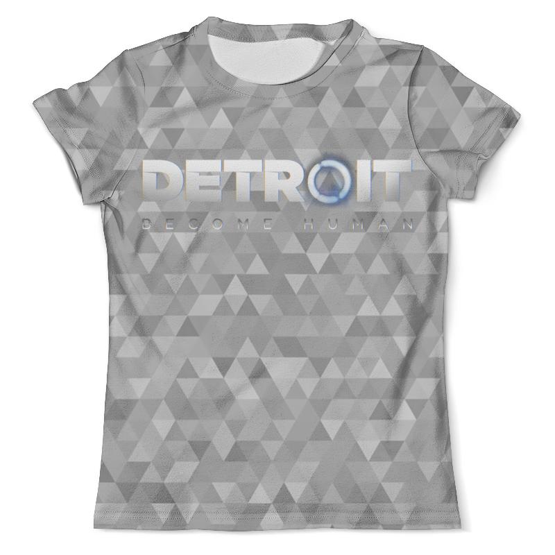 Футболка с полной запечаткой (мужская) Printio Detroit: become human свитшот унисекс с полной запечаткой printio detroit become human