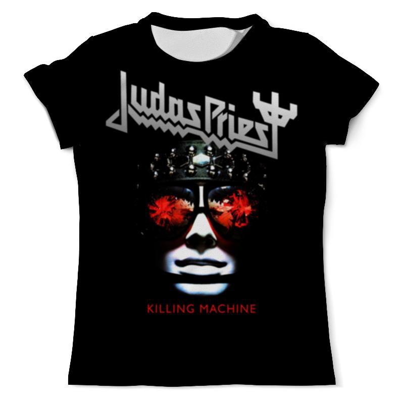 Printio Judas priest, музыка, рок, группы, метал, футболка с полной запечаткой женская printio judas priest музыка рок группы метал