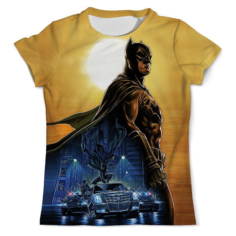 Футболка с полной запечаткой (мужская) Printio Batman design футболка с полной запечаткой мужская printio the lego batman movie