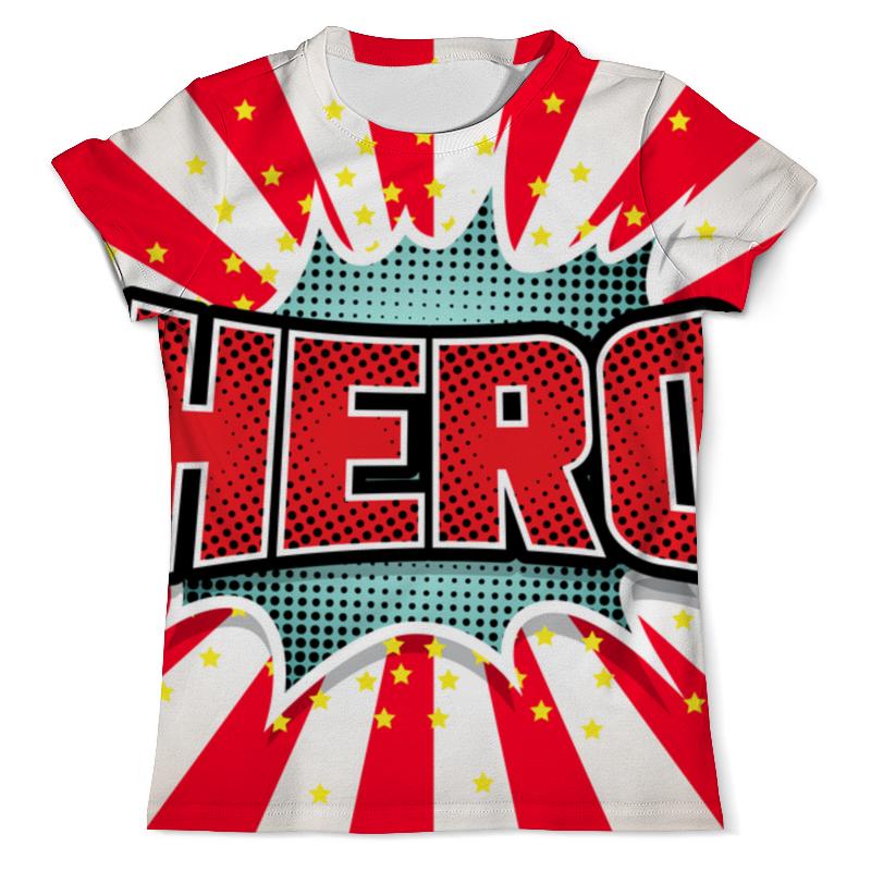 Футболка с полной запечаткой (мужская) Printio Heroo футболка с полной запечаткой для девочек printio heroo
