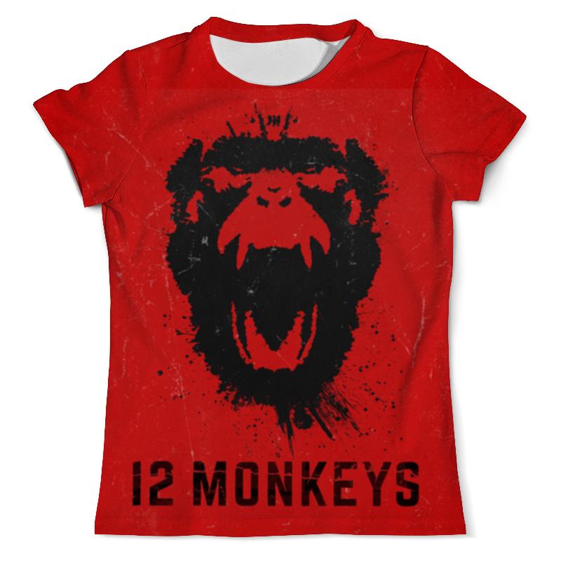 Футболка с полной запечаткой (мужская) Printio 12 обезьян бомбер printio 12 обезьян 12 monkeys