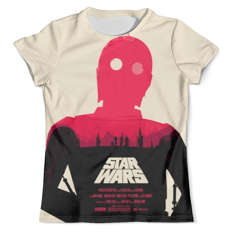 Футболка с полной запечаткой (мужская) Printio Star wars футболка с полной запечаткой мужская printio robots love story star wars