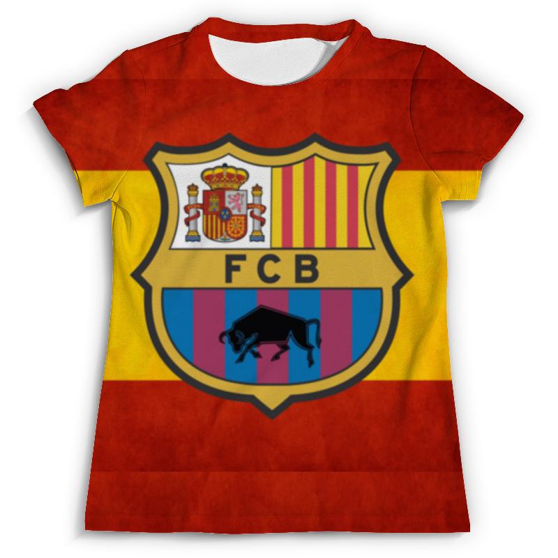 Футболка с полной запечаткой (мужская) Printio Барселона tryp barcelona condal mar hotel 4 барселона