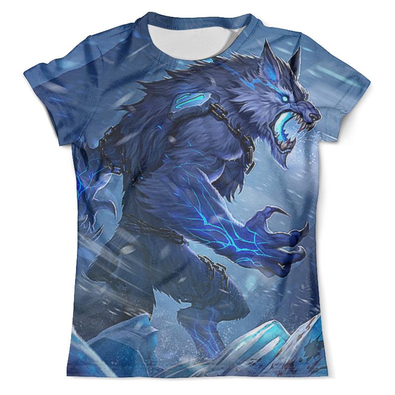 Футболка с полной запечаткой (мужская) Printio Волк вампир футболка с полной запечаткой мужская printio волк