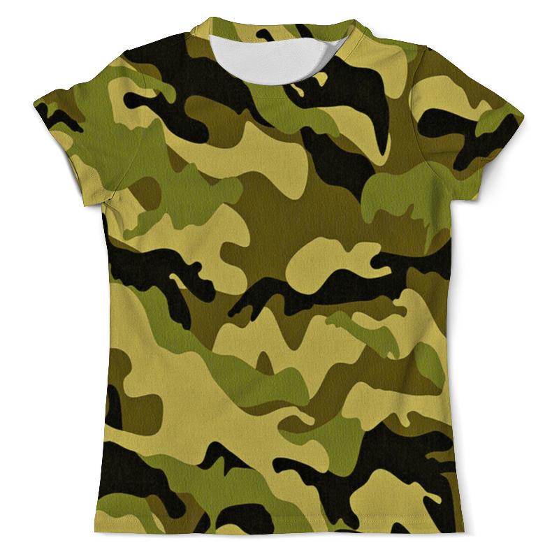 Футболка с полной запечаткой (мужская) Printio Мультицвет камуфляж футболка с полной запечаткой мужская printio яркий камуфляж