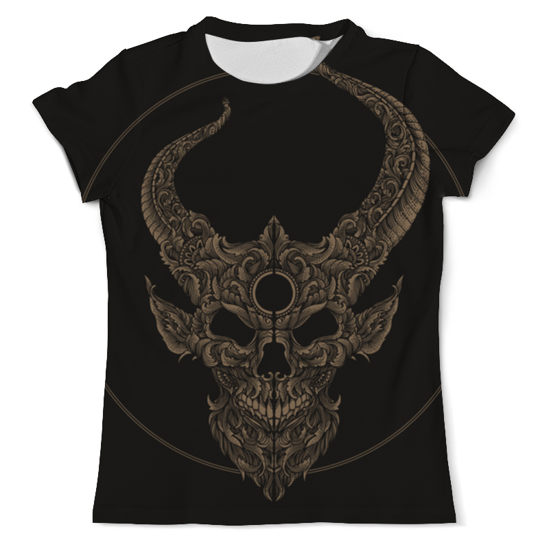 Футболка с полной запечаткой (мужская) Printio Skull футболка с полной запечаткой мужская printio skull triangle