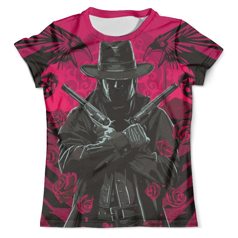 Футболка с полной запечаткой (мужская) Printio Guns n roses d203 starter 2 guns tattoo complete kit