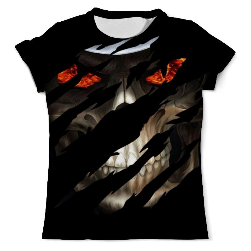 Printio Evil skull футболка с полной запечаткой мужская printio hear no evil see no evil speak no evil