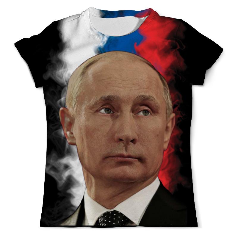 Футболка с полной запечаткой (мужская) Printio Путин патриот страны футболка с полной запечаткой мужская printio путин в в