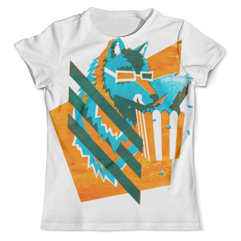 Футболка с полной запечаткой (мужская) Printio Волк с попкорном футболка с полной запечаткой мужская printio battlefield v