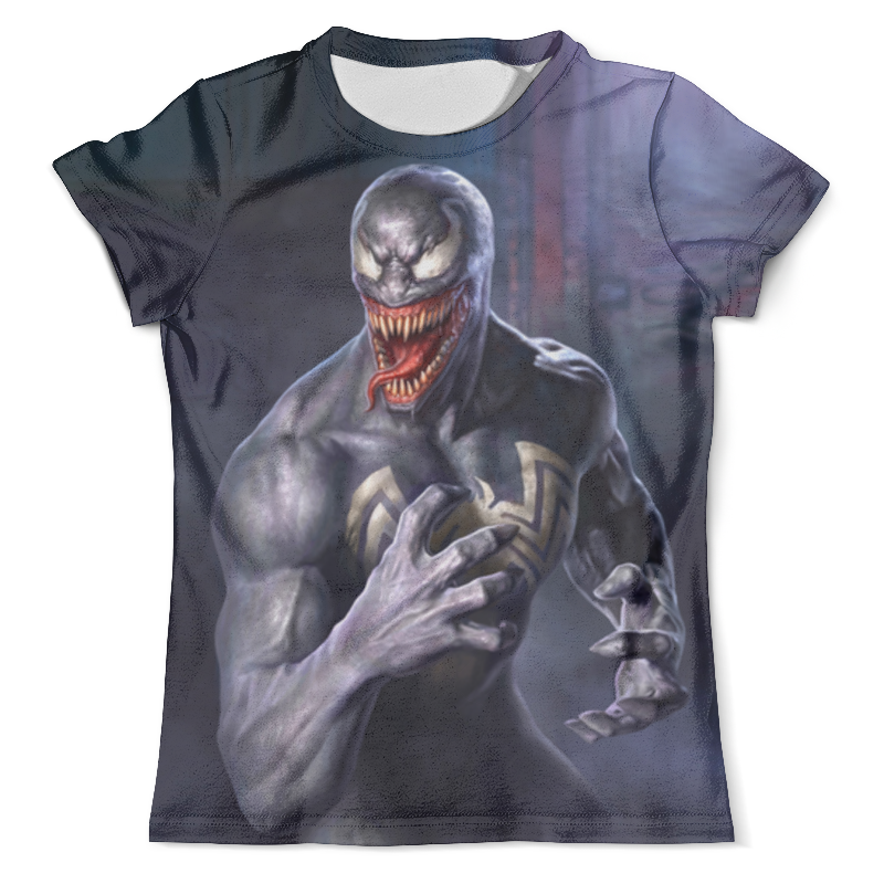 Футболка с полной запечаткой (мужская) Printio Venom футболка с полной запечаткой мужская printio фрактальная эзотерика мандалы