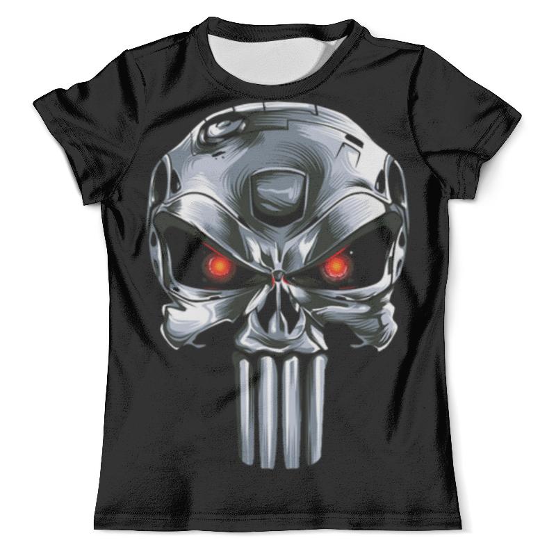 Футболка с полной запечаткой (мужская) Printio Punisher of the future (terminator) футболка wearcraft premium printio punisher of the future