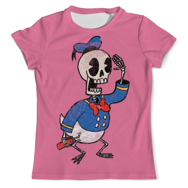 Футболка с полной запечаткой (мужская) Printio Дональд дак скелет футболка с полной запечаткой мужская printio рыба скелет 2