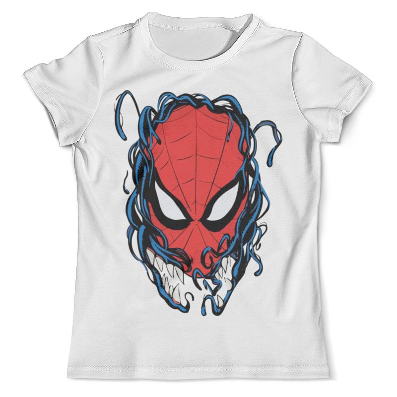 Футболка с полной запечаткой (мужская) Printio Человек паук и веном футболка с полной запечаткой мужская printio и по