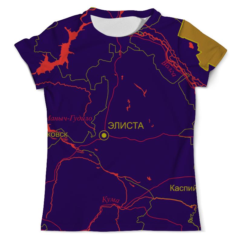 Printio Республика калмыкия. элиста футболка с полной запечаткой мужская printio республика татарстан казань