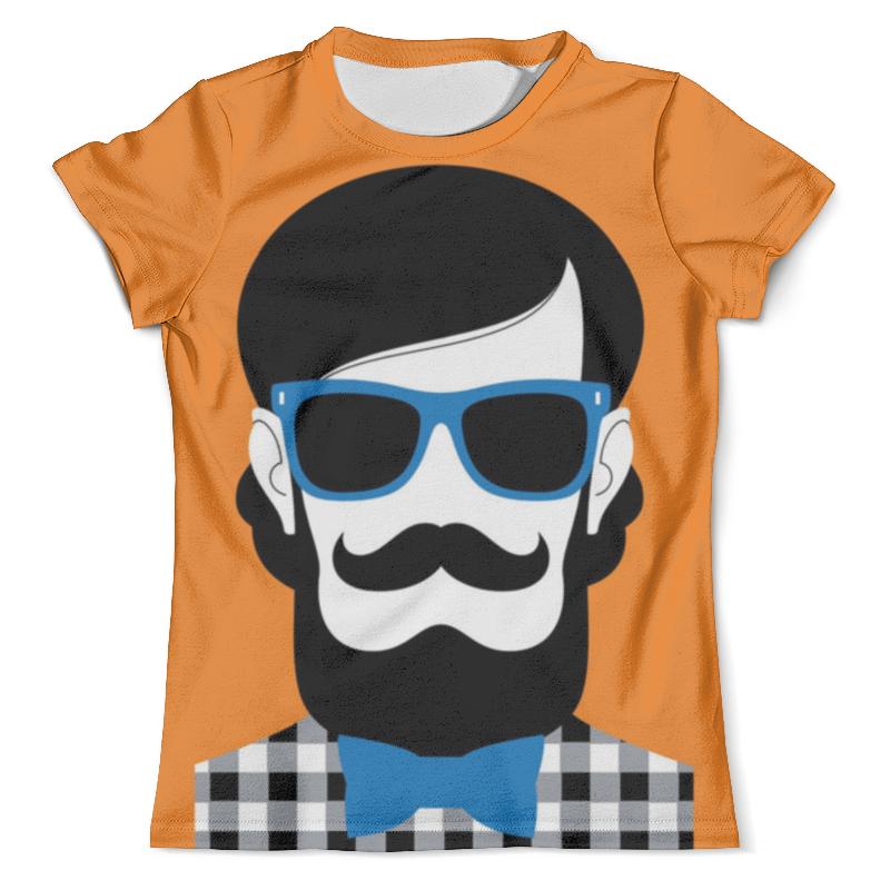 Футболка с полной запечаткой (мужская) Printio Мистер хипстер футболка с полной запечаткой мужская printio хипстер пес