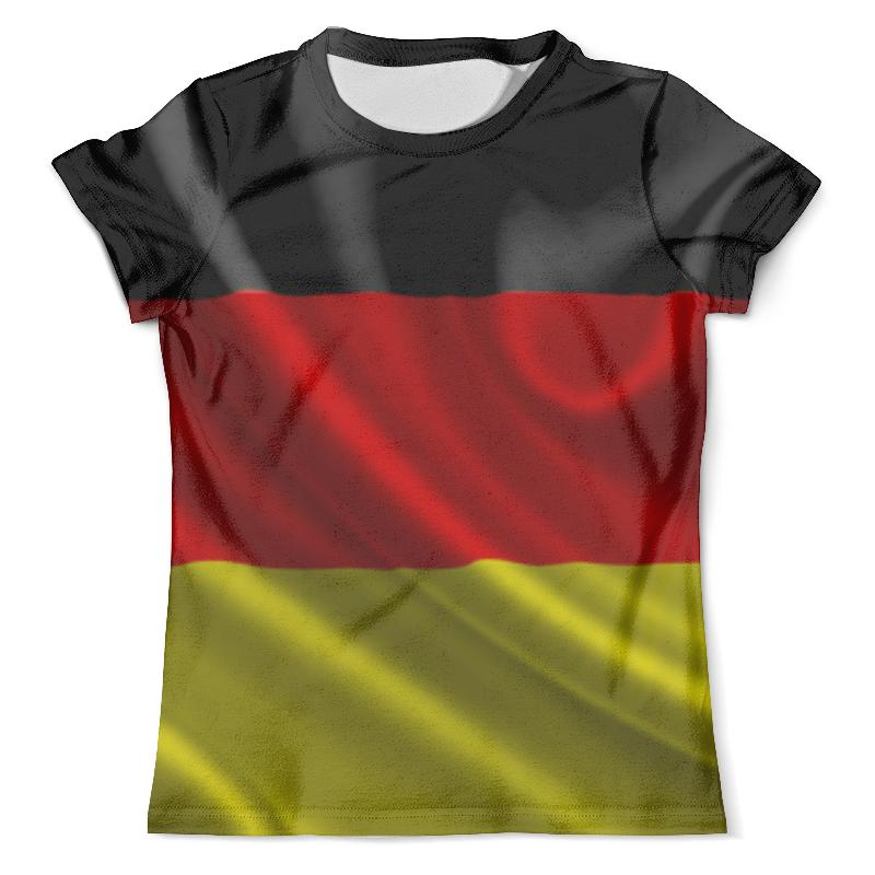 Футболка с полной запечаткой (мужская) Printio Флаг германии футболка с полной запечаткой мужская printio american flag американский флаг