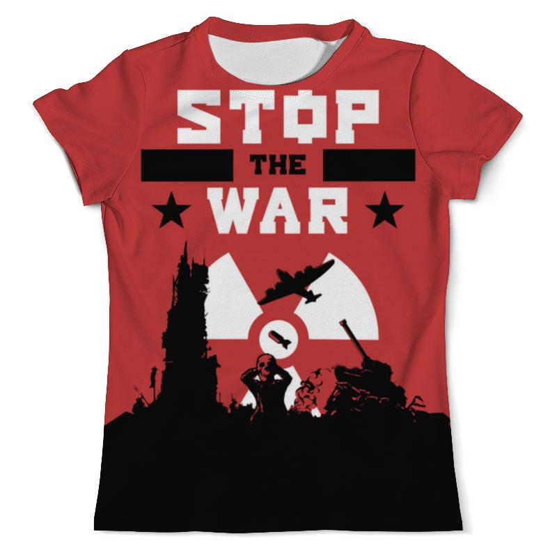 Футболка с полной запечаткой (мужская) Printio Stop the war футболка с полной запечаткой мужская printio civil war