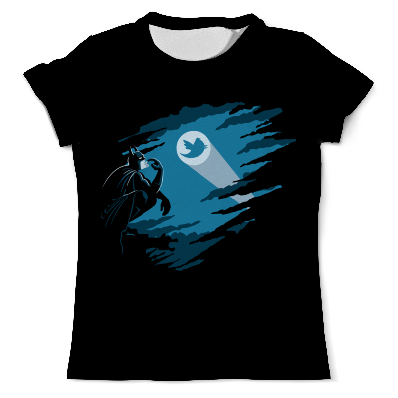 Футболка с полной запечаткой (мужская) Printio Бетмэн (batman) футболка с полной запечаткой мужская printio the lego batman movie